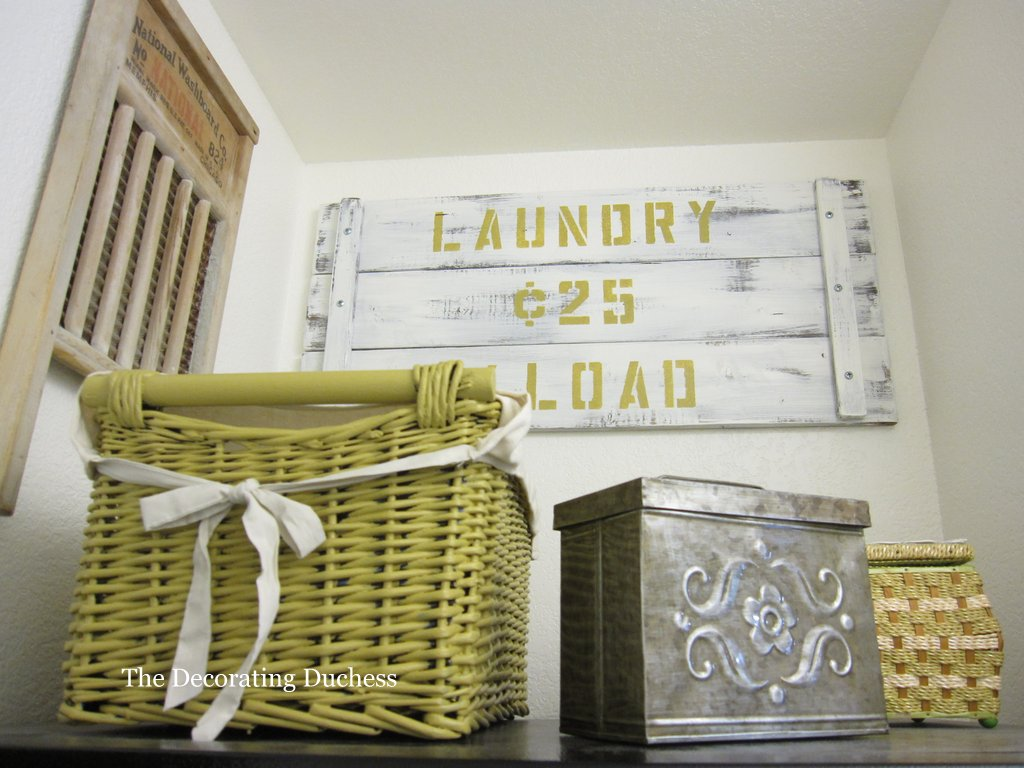 The Decorating Duchess: Laundry Room Reveal