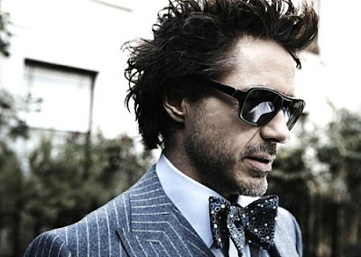 Robert Downey Jr bow tie