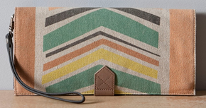Nancybird Ziggy clutch handbag
