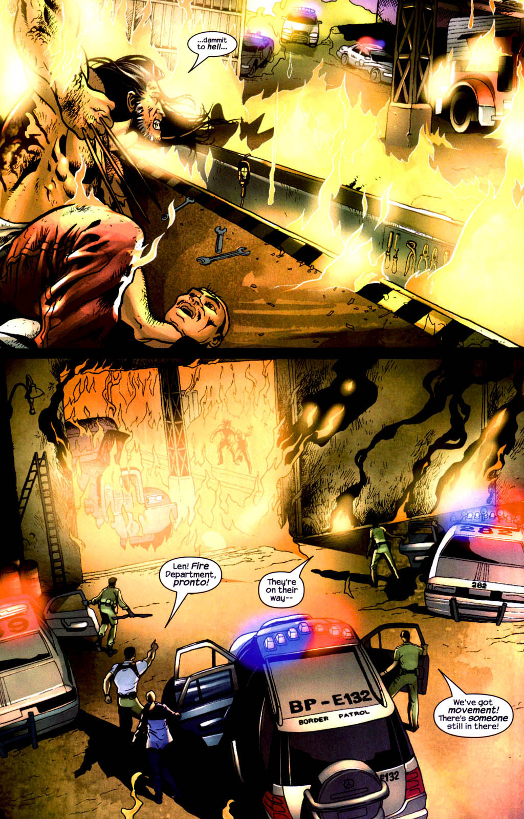 Read online Wolverine (2003) comic -  Issue #8 - 14