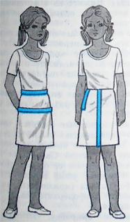 Как построить выкройку для вязаной юбки?