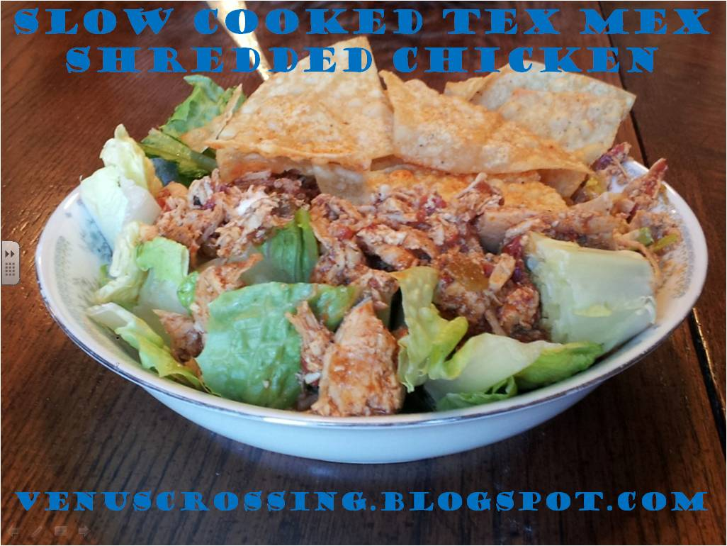 Venus Crossing with Liss: Crock Pot Tex Mex Chicken
