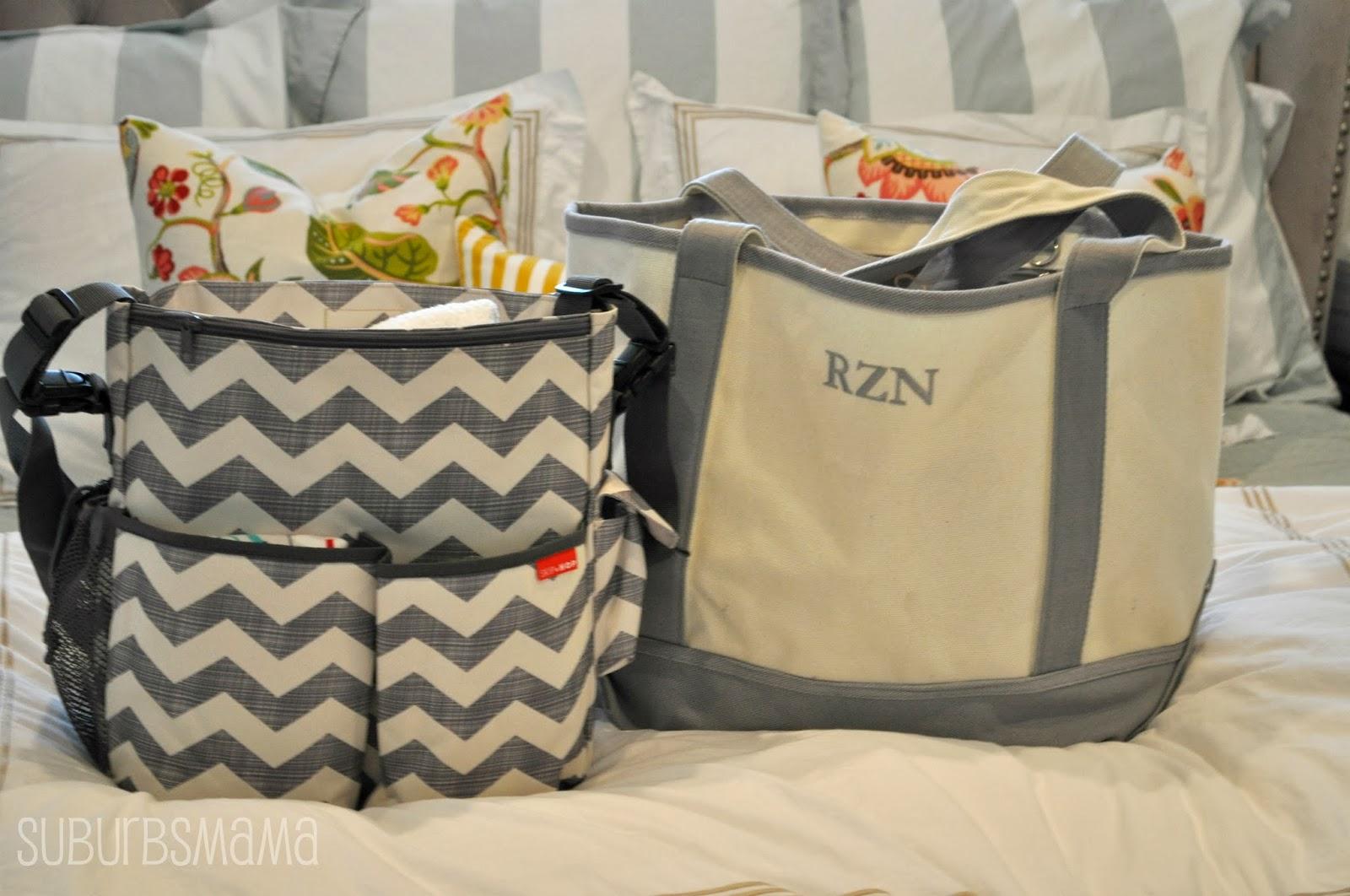 Suburbs Mama: Packing the Hospital Bag