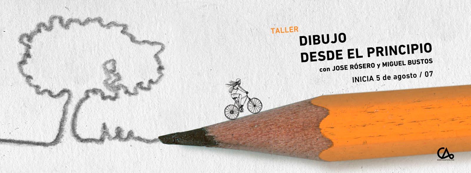 DIBUJO DESDE EL PRINCIPIO // 5 de ago