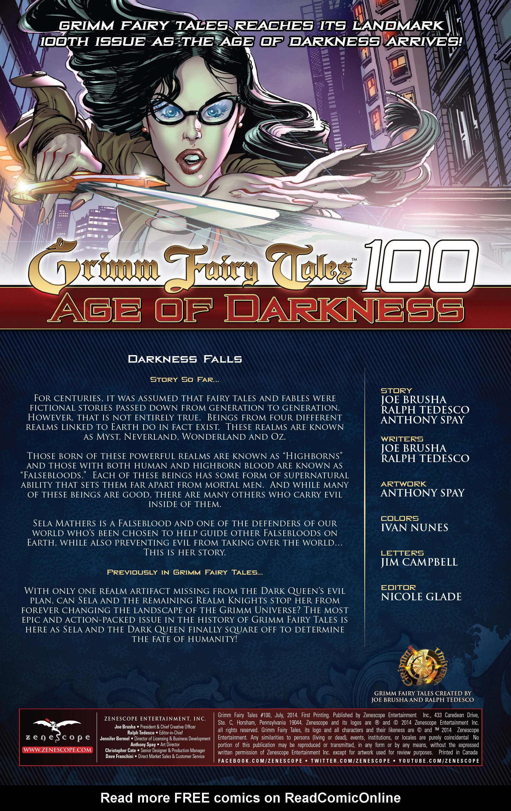 Grimm Fairy Tales (2005) Issue #100 #103 - English 2