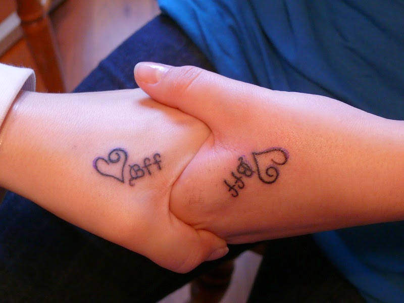 Meaningful Best Friend Tattoos Ideas with Various Designs and ...