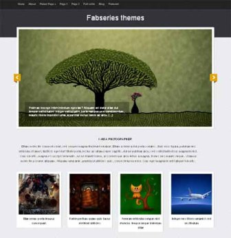 Free Tiara Fab Series - Portfolio WordPress Theme for Forphotographers or Artists