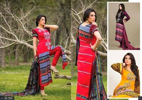 Barkha Lawn 2014 Vol-1