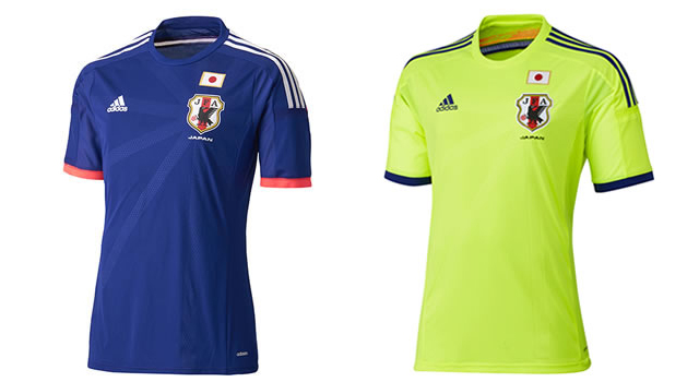 Camisetas selección Japón Mundial 2014