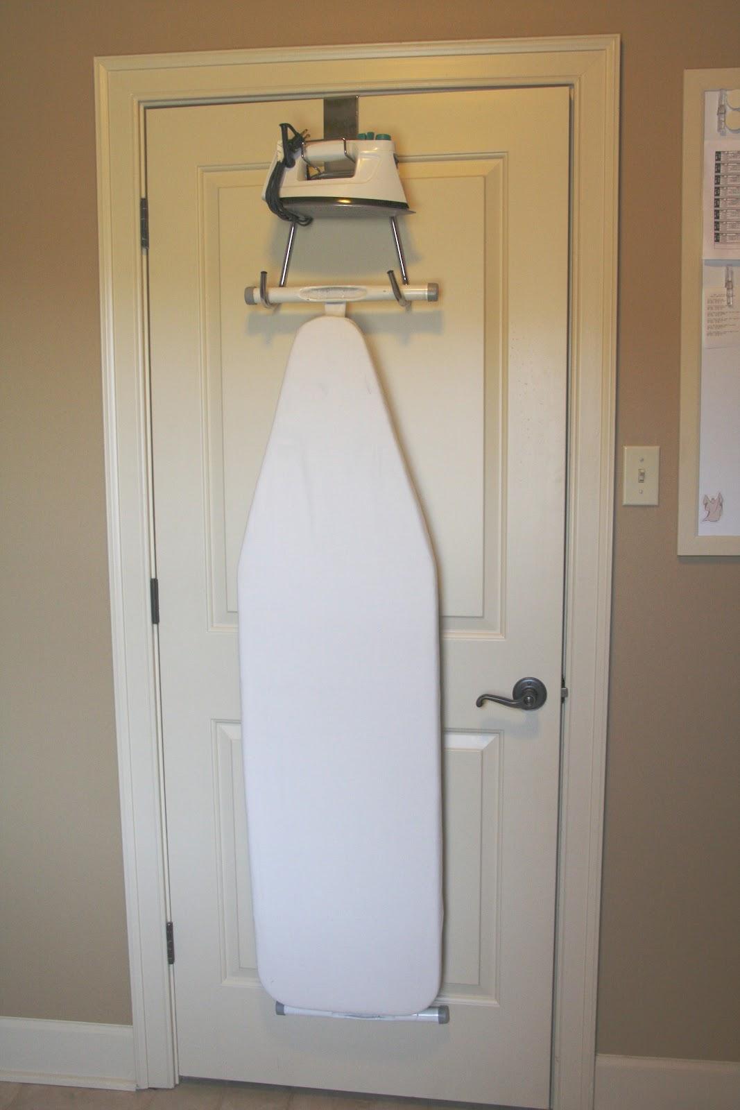 Simple Solution Ironing Board Organizer Simply Organized