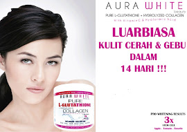 AURA WHITE GLUTA COLLAGEN 400,000MG