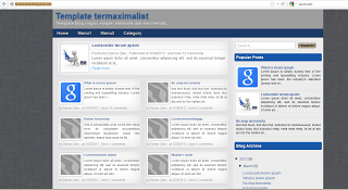 Template SEO 2013