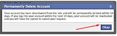 Permanently Delete my  Account