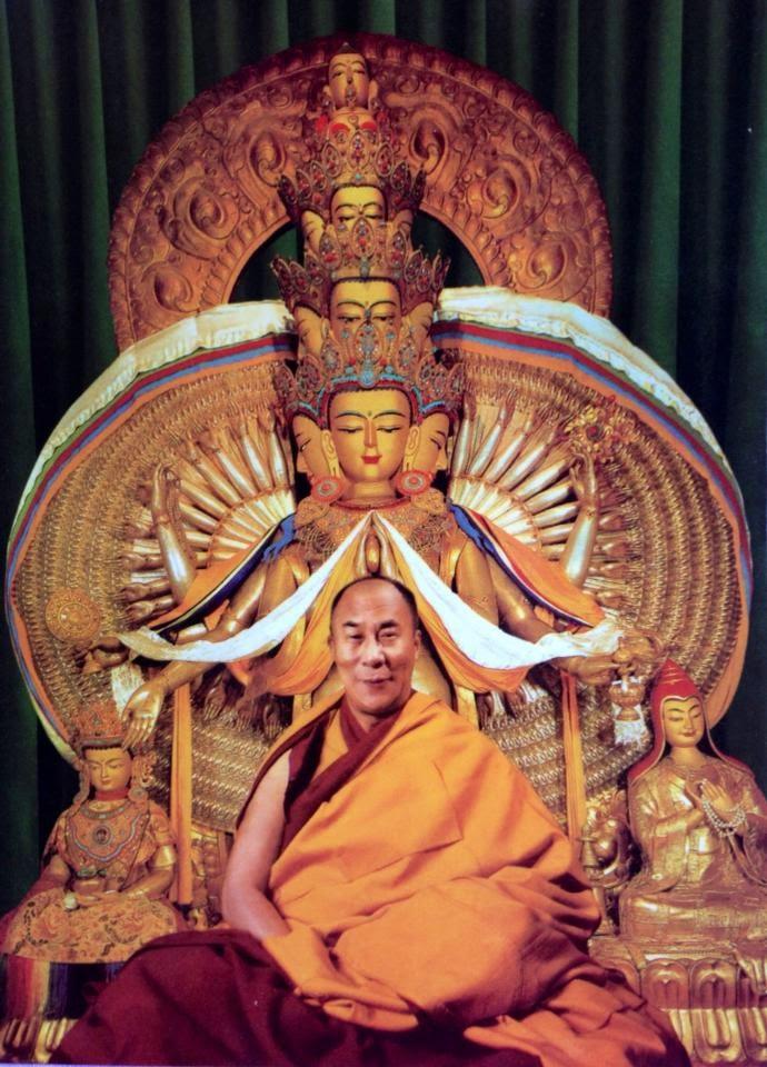 Dalai Lama Tenzin Gyatso.