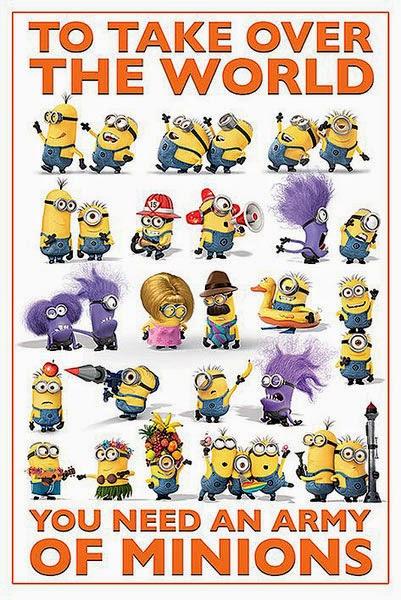 Poster Minions Gru 2