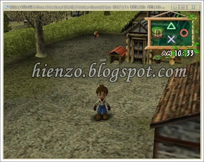 Harvest moon ps2 screenshot 2
