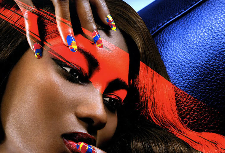 The Royal Nail Beyonce And Lady Gaga Lead The Nail Art Revolution