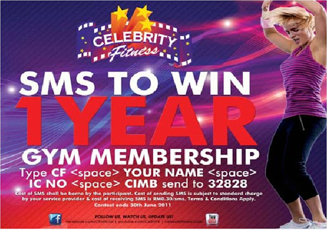 Celebrity Fitness Membership Card Promotion | Ramsay Sime ...
