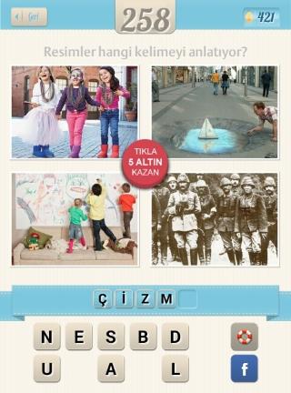 Resimli Kelime bulmaca çözümleri Atatürk Çocuklar Resim yapan adam
