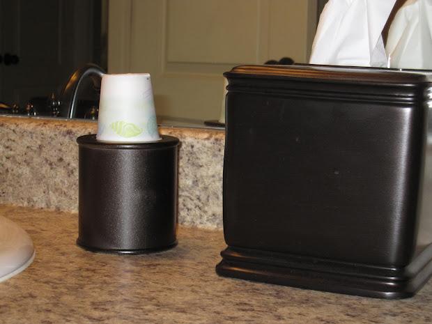 Dixie Bathroom Cup Wall Dispenser