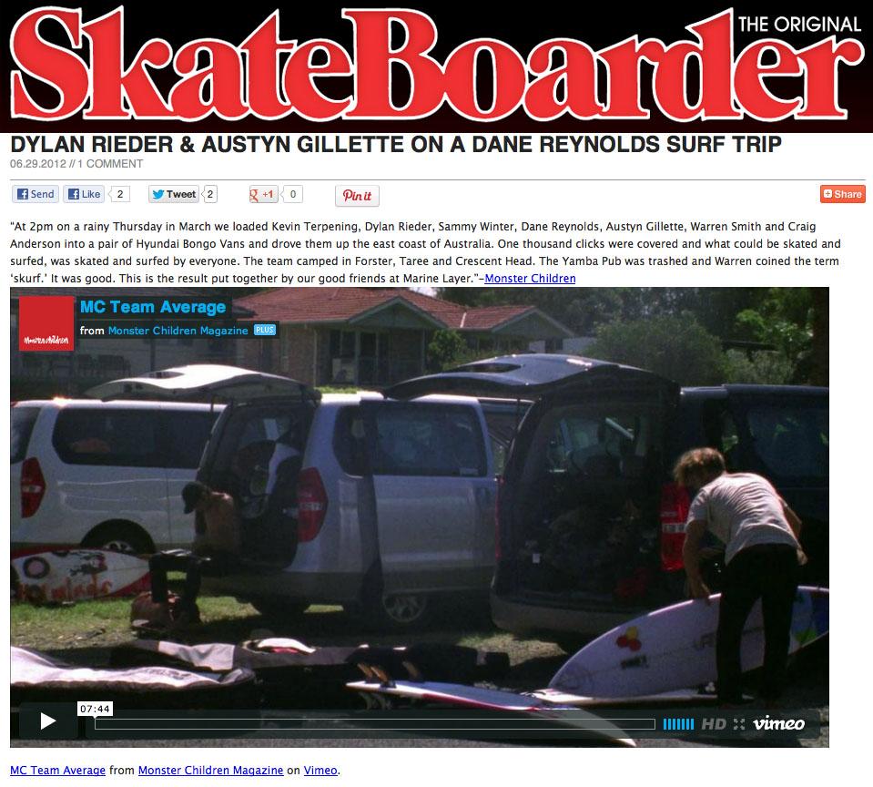 skateboarding and inertia