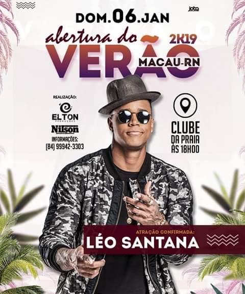 LEO SANTANA - O GIGANTE - EM MACAU