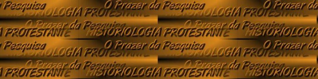 HISTORIOLOGIA PROTESTANTE