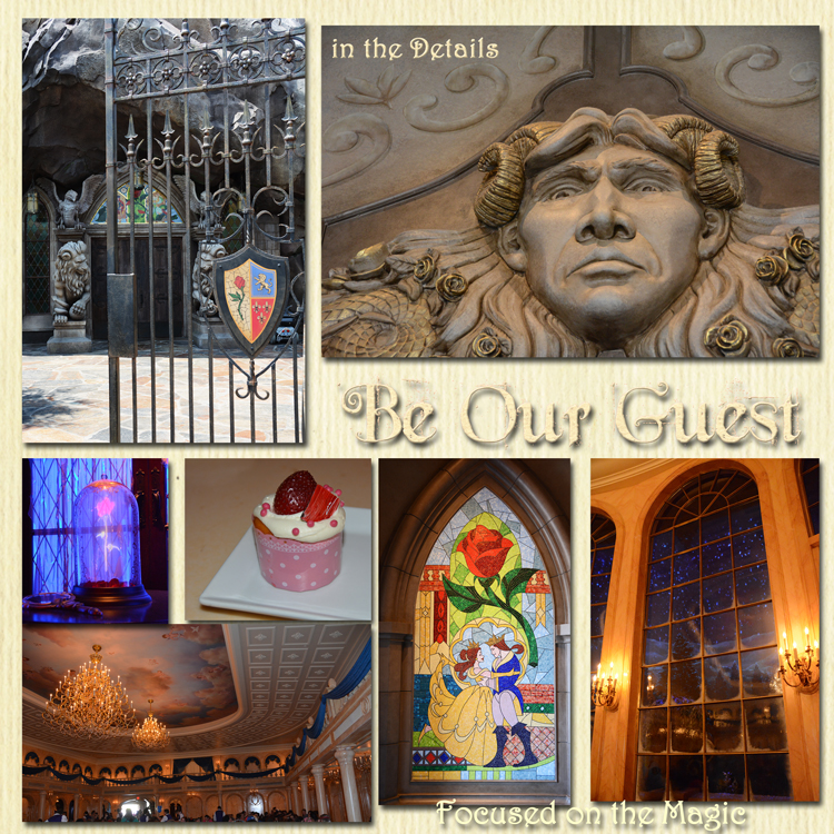 Focused on the Magic | Disney in the Details | Be Our Guest