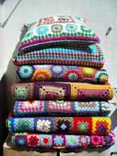Todas mis mantas a crochet.... por ahora¡¡¡