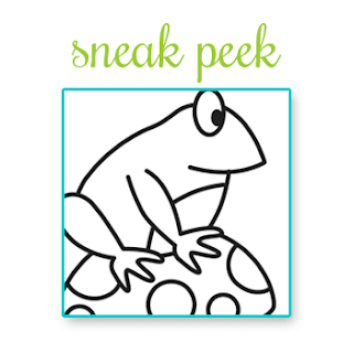Frog - Sneak peek of September Release from Newton's Nook Designs!