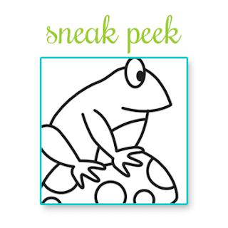 Frog - Sneak peek of September Release from Newton's Nook Designs!