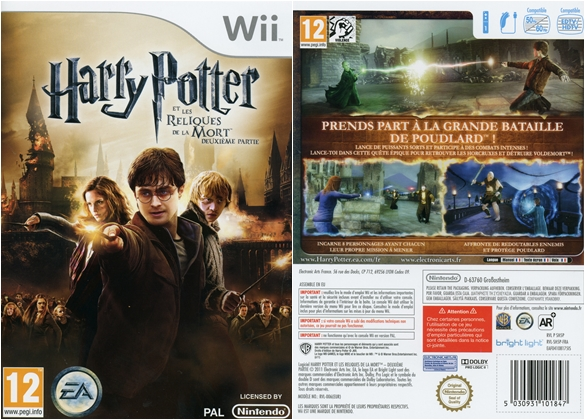 harry potter wii