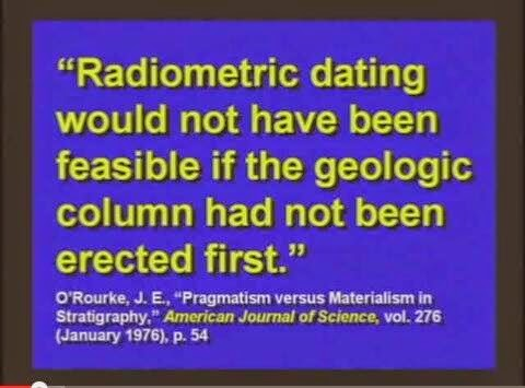 why is radiometric dating not accurate