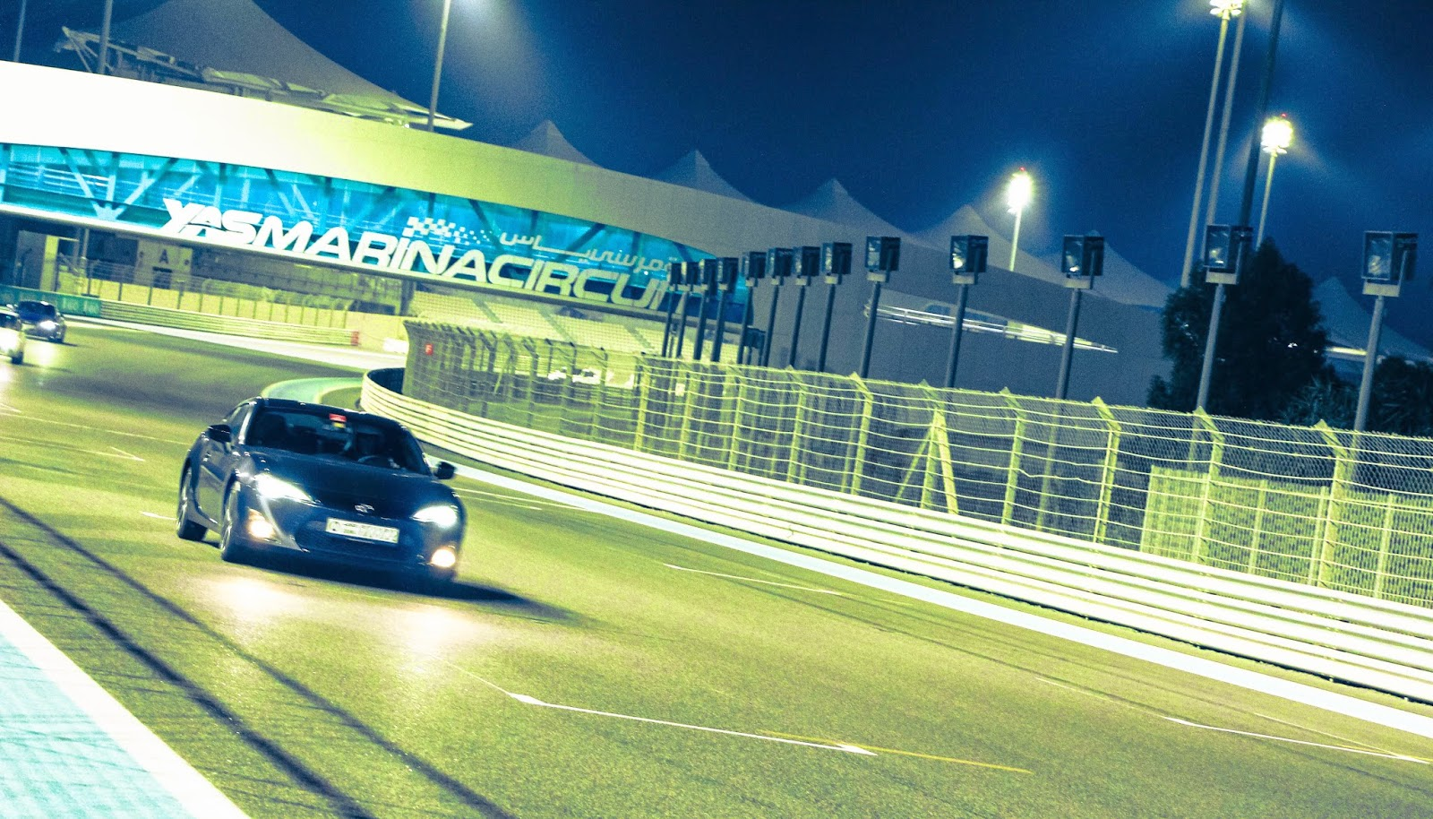 Toyota 86 at Yas Marina Circuit