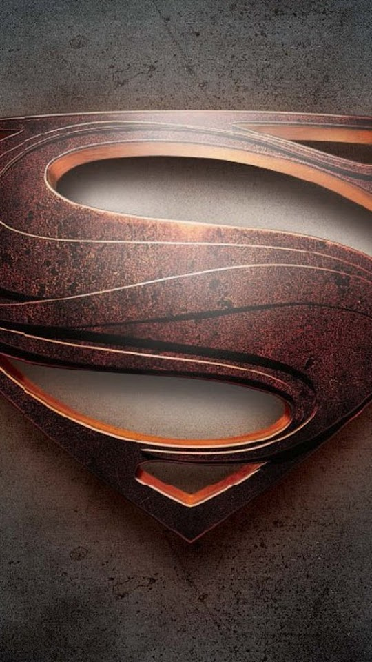 Man of Steel Logo  Galaxy Note HD Wallpaper
