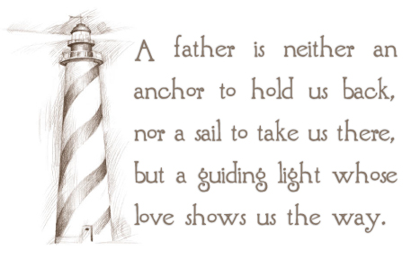 The berretts fathers for Fathers day quotes from daughter to dad