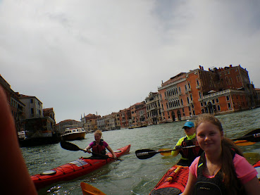 Kayaking Venice and the Lagoon