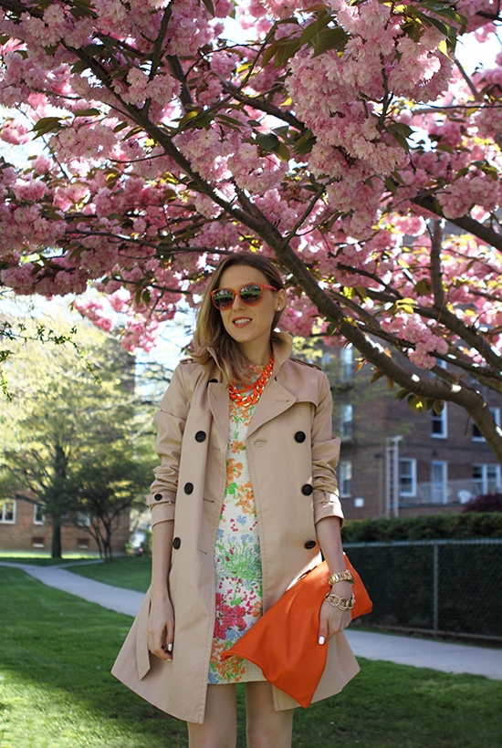 """Blossom On My Mind"" Outfit Post on ""The Wind of Inspiration"" Blog #outfit #style #fashion"