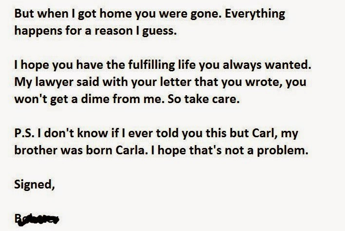 This Must Be The Best Divorce Letter Ever