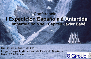 Conferencia Expedición a Antartida