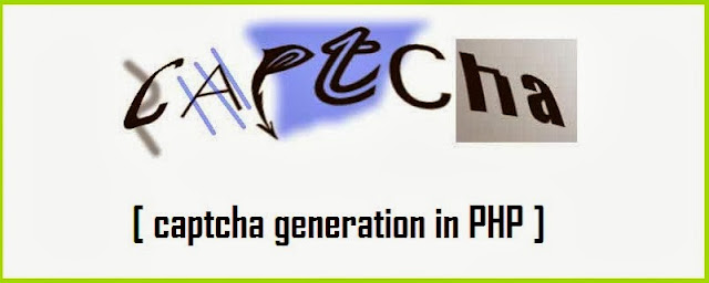 Captcha Generation in PHP