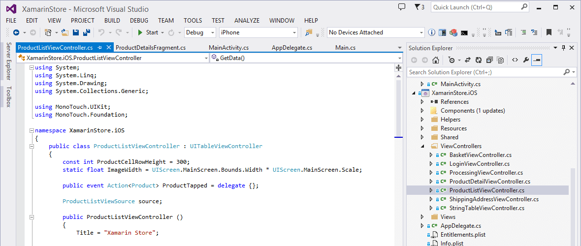 Xamarin for Visual Studio