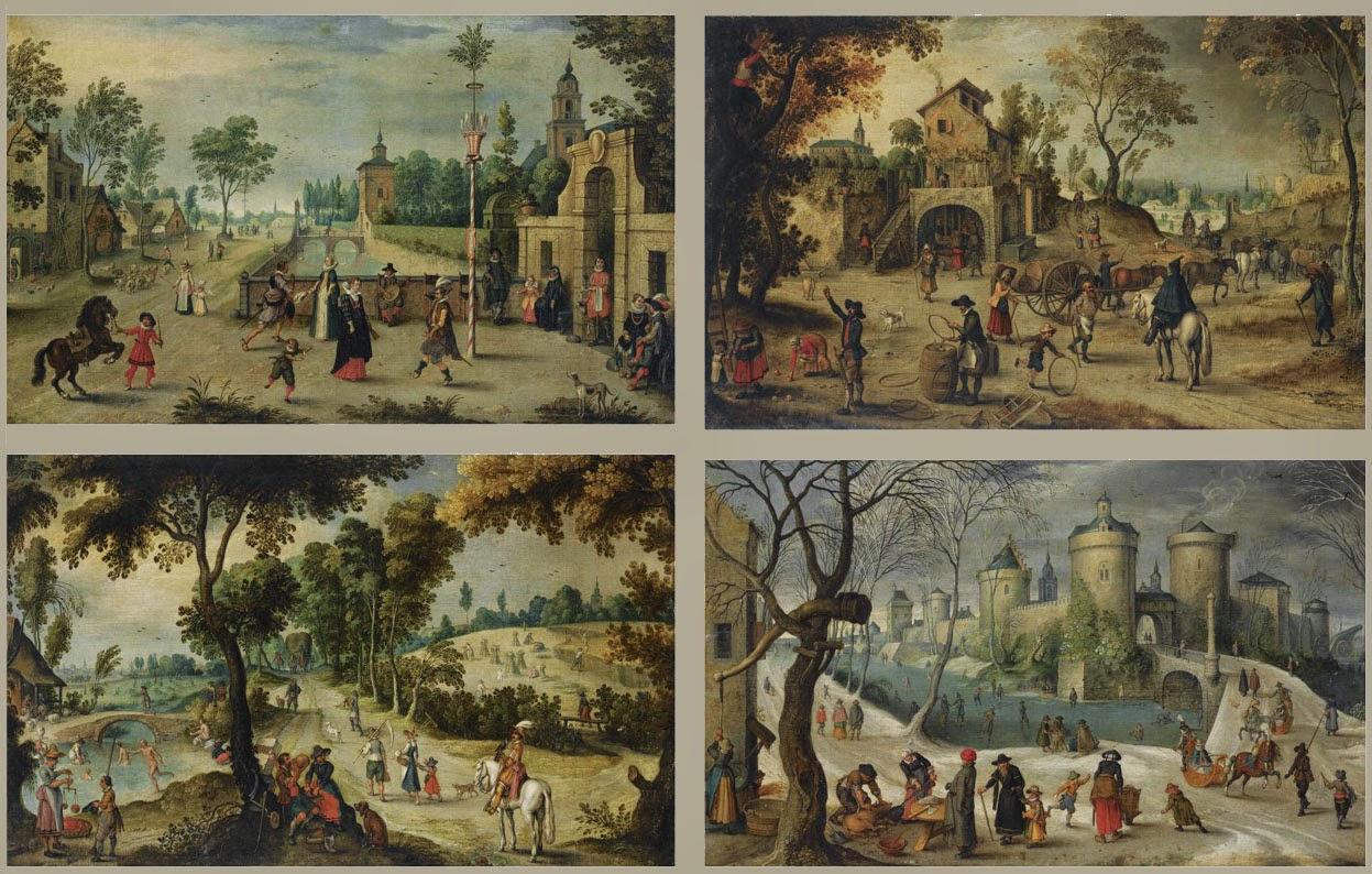 Debat art figuration les quatre saisons for Le jardin des 4 saisons pusignan