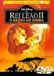 Filme O Rei Leão 2 O Reino de Simba   Dublado