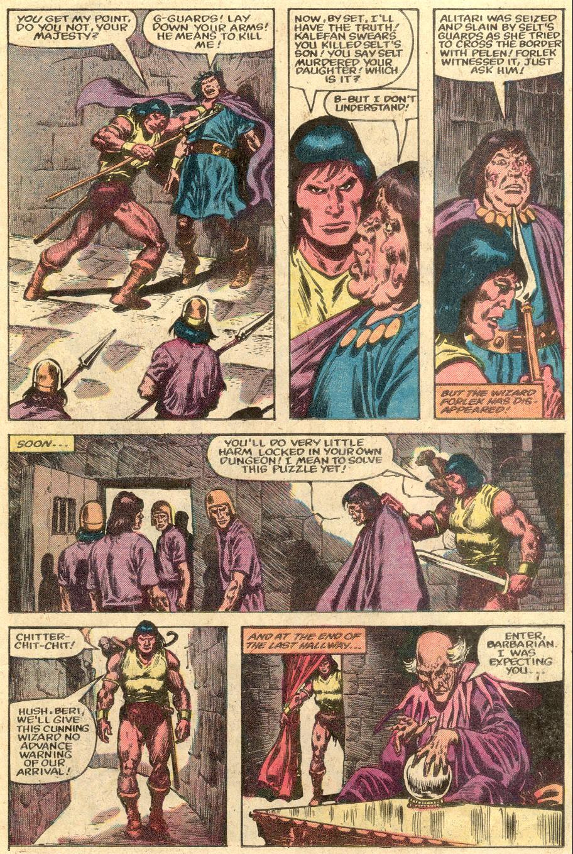Conan the Barbarian (1970) Issue #148 #160 - English 9