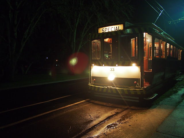 Liana of Finding Femme visits the Ballarat Tramway Museum for the Night Tram.