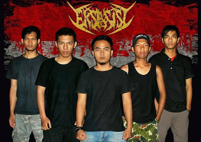eksposisi band death metal jakarta foto personil logo artwork font wallpaper