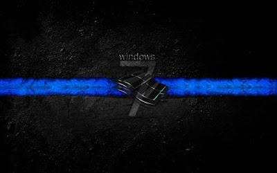 black windows wallpaper