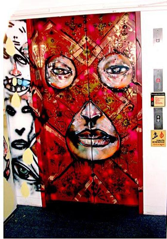 Arts food graffiti artist david choe 39 s million dollar for David choe mural