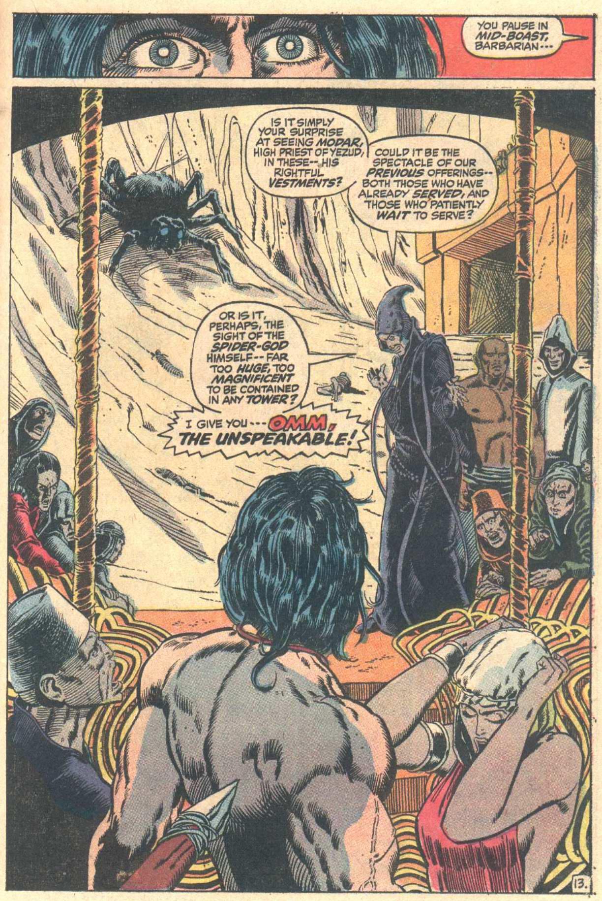 Conan the Barbarian (1970) Issue #13 #25 - English 14